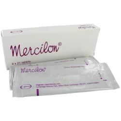 Mercilon 3x21 Tabletten Verpackung mit Blisterpackung