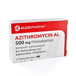 Azithromycin tabletten