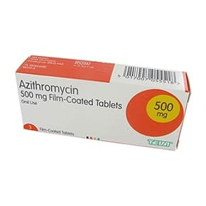 Azithromycin 250mg tabletter