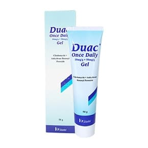 Box of Duac Once Daily 50g gel