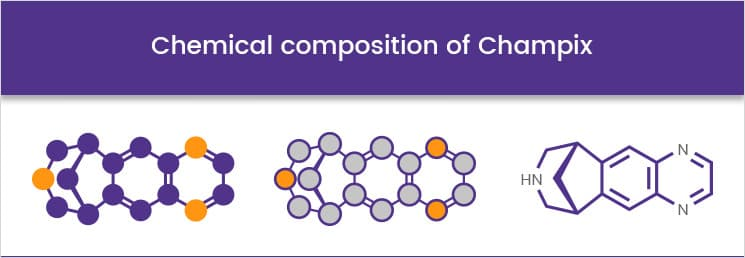 Chemical composition of Champix